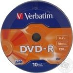 Disks Verbatim