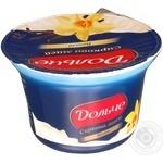 Сиркова маса Дольче з ваніллю термізована 8% 170г пластиковий стакан Україна