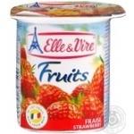 Десерт молочный Elle&Vire Fruits Клубника 125г