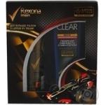 Набір подарунковий Rexona Lotus особлива серія антиперспірант аерозоль Rexona lotus f1 team особлива серія 150мл+шампунь Clear vita abe проти лупи для чоловіків