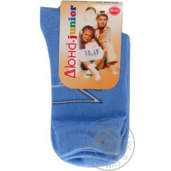 Носки детские Дюна светло-серые размер 22-24 4В456 - купить, цены на Фуршет - фото 3