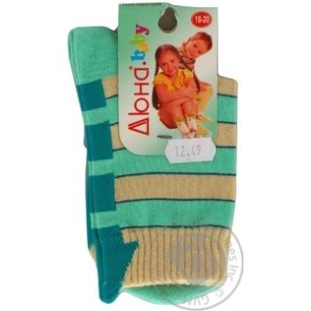 Шкарпетки дитячі 5В 400 р.18 Дюна в асорт.