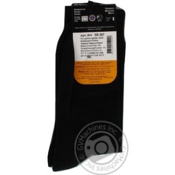 Носки Дюна мужские черные 23-25р - купить, цены на МегаМаркет - фото 4