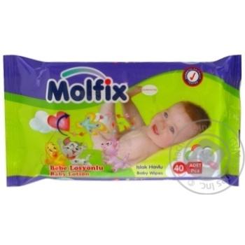 Салфетка Молфикс 40шт 140г