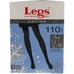 Колготки женские Legs Cotton 110 nero p.5 600 шт