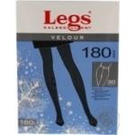 Колготки женские Legs Velour 180 nero p3 611 шт