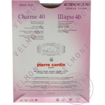 Колготи жіночі Pierre Cardin  Charme 40 Visone 3 - купить, цены на МегаМаркет - фото 4