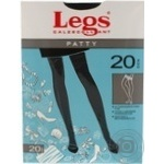 Колготи Legs Patty 20 Den жіночі р.4 Nero
