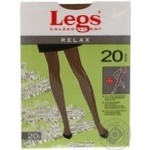 Колготы Legs Relax 20Den женские р.5 Sabbia
