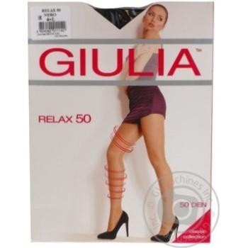 Колготи жіночі Giulia Релакс 50 неро 4 - купить, цены на Novus - фото 1