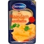 Hard cheese Ostrowia Maasdam 45% 150g Poland
