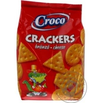 Cracker Croco Private import with taste of cheese 100g - buy, prices for Novus - image 2
