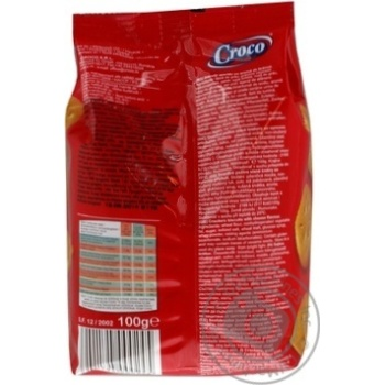 Cracker Croco Private import with taste of cheese 100g - buy, prices for Novus - image 3