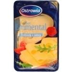 Hard cheese Ostrowia Emmental 45% 150g Poland
