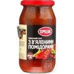 Sauce Spilva tomato 500g glass jar Latvia