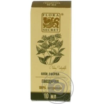 Олія ефірна Flora Secret гвоздична 10мл