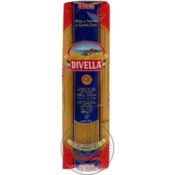 Макаронные изделия Divella Capellini №11 500г - купить, цены на Novus - фото 4
