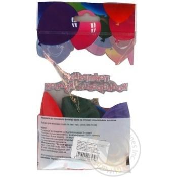 Кулі повітряні Все для свята Party Favors асорті 5шт 61100/5 - купити, ціни на Novus - фото 6