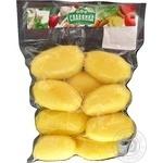Картофель Славянка свежий чищенный мытый целый 1кг