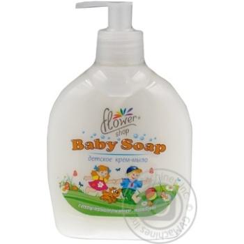 Крем-мыло жидкое Flower Shop детское с экстрактом ромашки и календулы 300мл