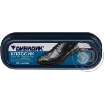 Dividik Classic Sponge for Shoes Black - buy, prices for Tavria V - image 1