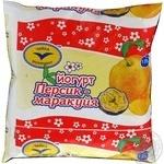 Йогурт Чайка персик-маракуйя 1.5% 500г пленка Украина