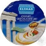 Йогурт Элинас Греческий с лесным орехом и медом 9.4% 150г пластиковый стакан Германия