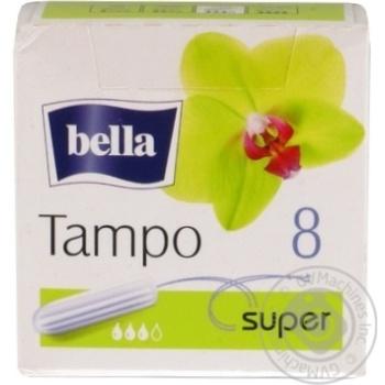 Тампони гігієнічні Bella Super 8шт - купить, цены на Novus - фото 1