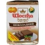 Продукт сырный Шостка Шоколадный плавленый молокосодержащий сладкий 30% 100г Украина