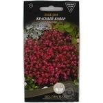 Насіння Квіти Лобелія Червоний килим Golden Garden 0,1г