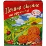 Печиво Розмай вівсяна на фруктозі 350г картонна коробка Україна