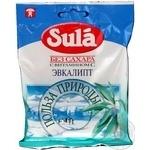 Льодяники евкаліпт та вітамін С Sula 60г