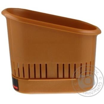 Сушилка для столового приладдя Plast Team Блакитна - купити, ціни на Novus - фото 6
