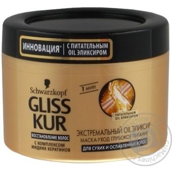 Маска-догляд Gliss Kur Екстремальний Oil Еліксир 200мл