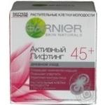 Крем денний проти зморшок Garnier Skin Naturals Активний Ліфтинг від 45років 50мл