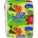 Cottage cheese Garmoniya with dried apricots 8% 200g Ukraine