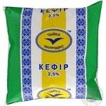 Кефир Чайка 2.5% 500г пленка Украина