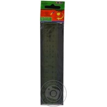Лінійка Zibi пластикова 15см - купити, ціни на CітіМаркет - фото 5