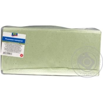 Рушники паперові Aro оливкові 250шт