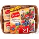 Йогурт Президент Дольче лесная ягода 3.2% 4х120г пластиковый стакан Украина