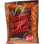 Beverage Indian instant coffee with coffee instant 25pcs 450g stick sachet