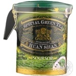 Green pekoe tea Sun Gardens Soursop 170g can Ukraine
