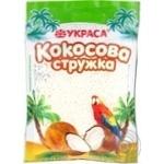 Shavings Ukrasa coconut for desserts 25g Ukraine