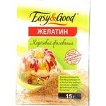 Gelatin Easy and good for desserts 15g Ukraine