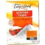Powdered sugar Easy and good for baking 200g Ukraine