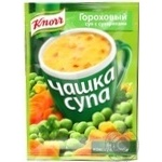 Суп гороховий з сухариками Knorr 21г