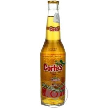 Пиво Кортес Текила светлое 6%об. 330мл - купить, цены на Novus - фото 3