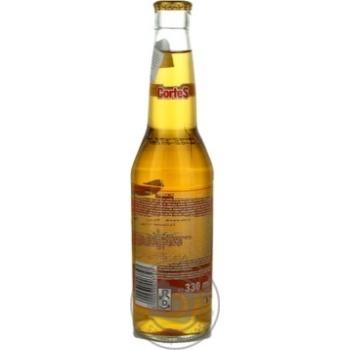 Пиво Кортес Текила светлое 6%об. 330мл - купить, цены на Novus - фото 2
