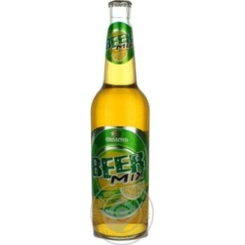 Пиво Оболонь Бирмикс Лимон 2.5%об. 500мл