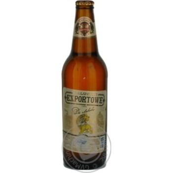 Пиво Калуское Экспортовэ До Львова светлое 3.8%об. стеклянная бутылка 500мл Украина